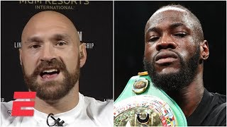 Tyson Fury is 'not interested in Deontay Wilder whatsoever' | SportsCenter