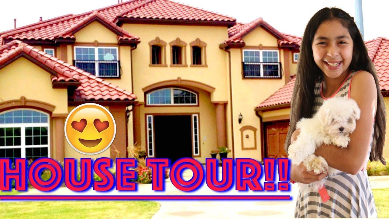 HOUSE TOUR!!B2cutecupcakes - YouTube