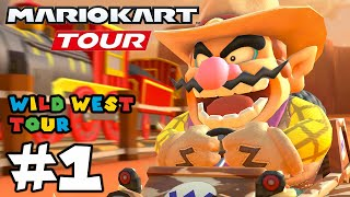 Mario Kart Tour: Wild West Tour Challenges 100% Completed!! - Gameplay Part 1