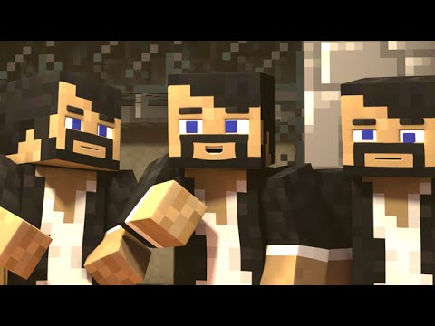 ATTACK OF THE CLONES (Minecraft Animation)