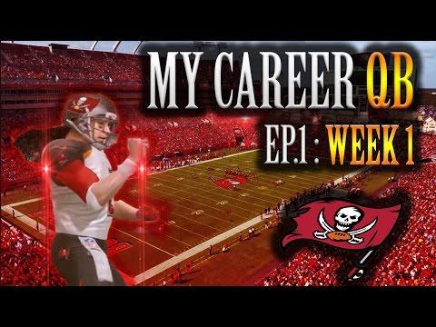 Madden NFL 17 - My Career QB Creation + Week 1. Next Peyton Manning??