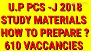 UP PCS J 2018,UTTAR PRADESH PCS J 2018 EXAM,STUDY MATERIAL