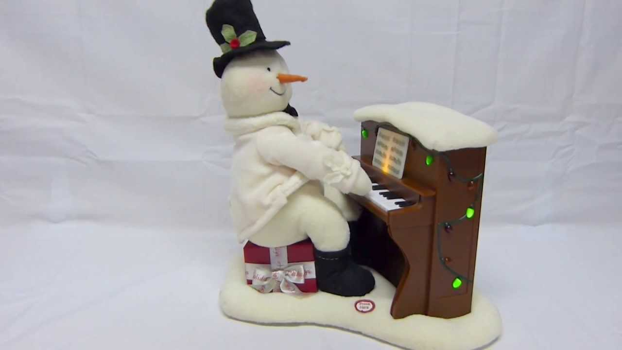 Hallmark Christmas Jingle Pal Animated Singing Snowman
