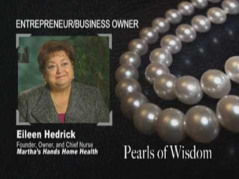 Entrepreneurship - Eileen Hedrick, Martha's Hands ...