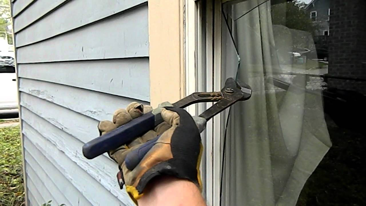 Broken Window Removal Youtube