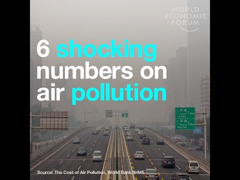 6 shocking numbers on air pollution