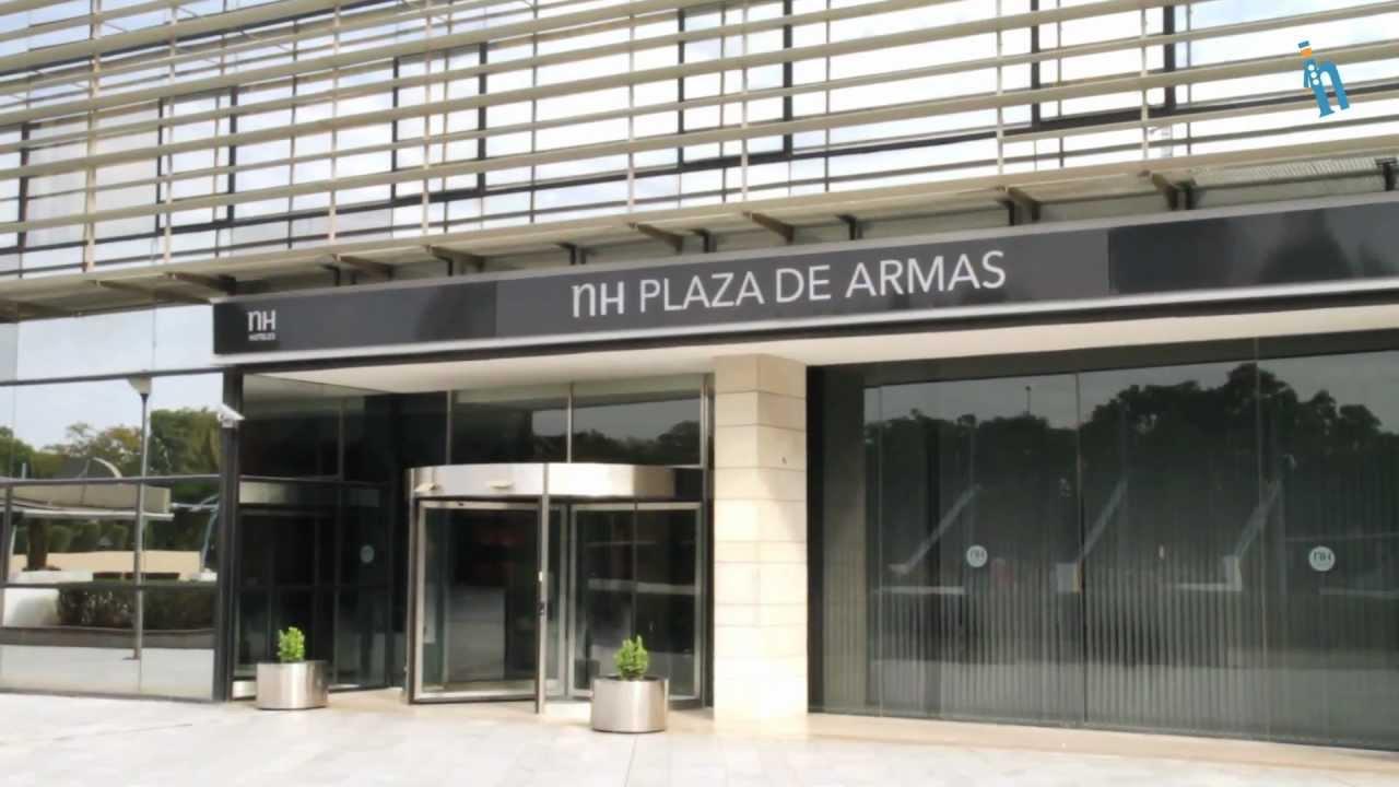 Sevilla hotel nh plaza de armas youtube for Suites sevilla plaza