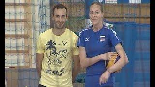 Открытый урок по волейболу с Екатериной Орловой
