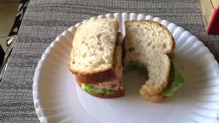 Starbucks Chicken Blt Salad Sandwich Review