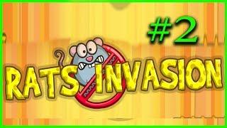 НАШЕСТВИЕ КРЫС 2 СПАСАЕМ СВОЙ ДОМ Игровой мультик для детей Rats Invasion