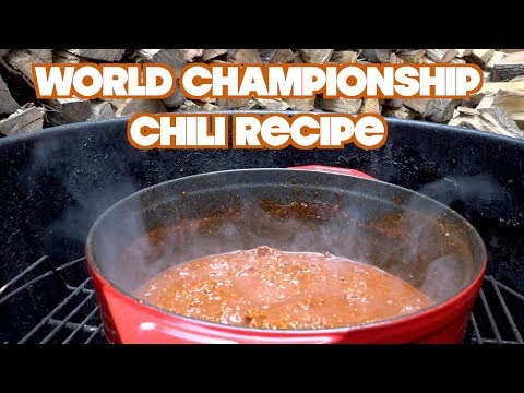 National Champion Chili Recipe (2018)