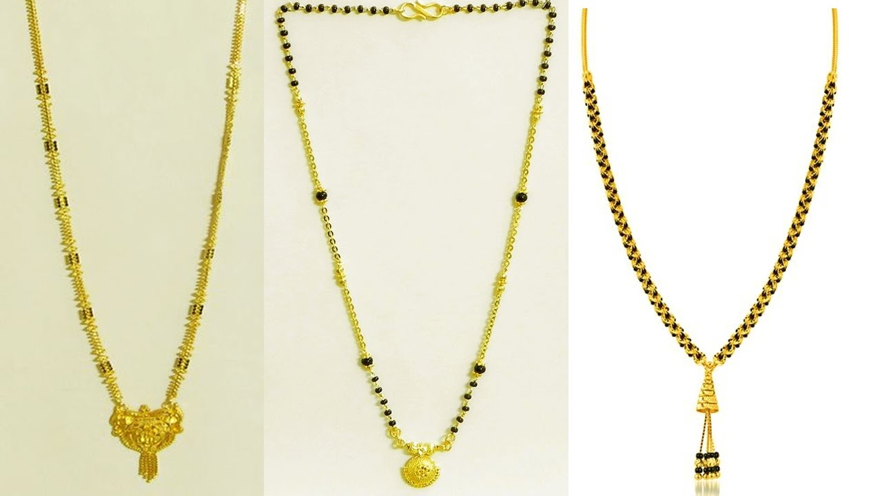 Beautiful 22 carat gold chains with matching pendant designs latest - Beautiful Gold Chain Jewellery Designs For Women