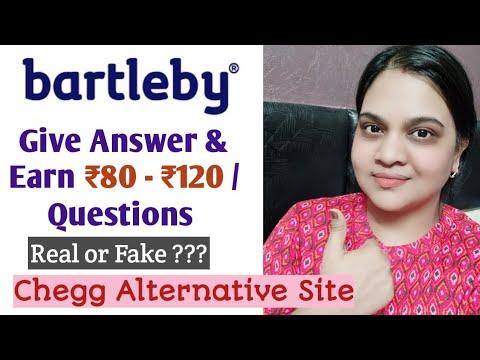 Download Bartleby a Chegg Alternative Site   Subject Matter Expert. Give Answers & Earn  Teaching Jobs Online