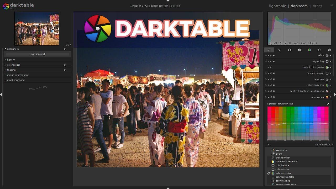 Free Lightroom Alternative: Darktable Review