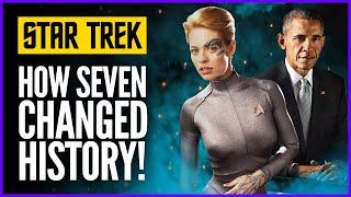 How Jeri Ryan gave us Trump and Obama! -  Star Trek: Seven of Nine President Maker!