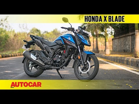Honda X Blade | First Ride Review | Autocar India