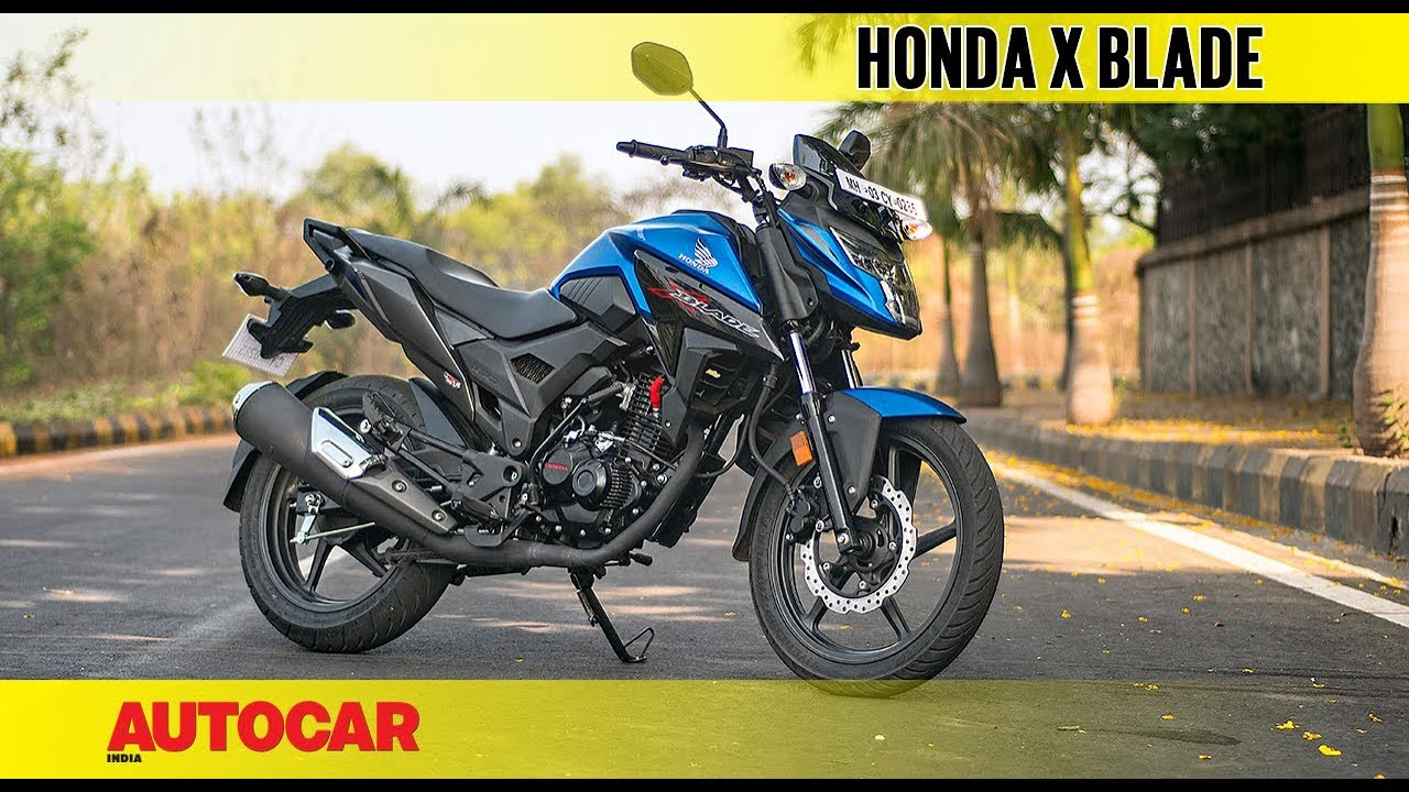 Honda X Blade First Ride Review Autocar India Youtube