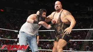 Big Show & Mark Henry vs. Luke Harper & Erick Rowan: Raw, Aug. 18, 2014