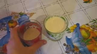 Десерт из ряженки(кефира)