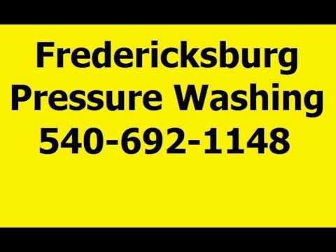 Fredericksburg Pressure Washing