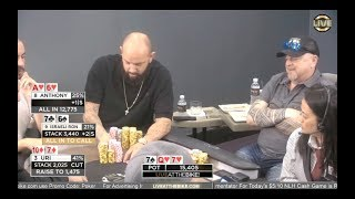 Three straddles, Three Huge Hands, and $12,000 to play for! ♠ Live at the Bike!