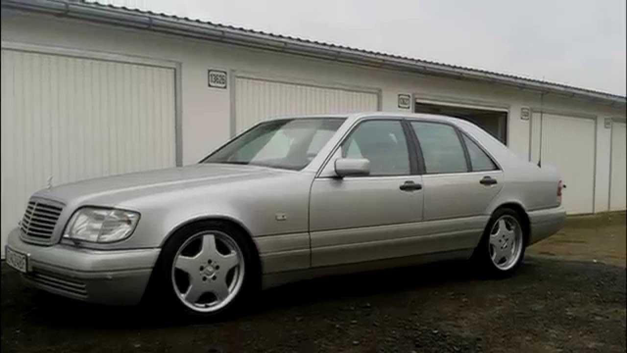 Mercedes benz s 300 td w140 1996 130kw youtube for Mercedes benz 300 td