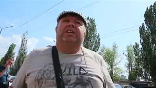 Валютчик инвалид (из партии ветеранов Афгана) вывесил флаг СССР на лобовухе своей иномарки