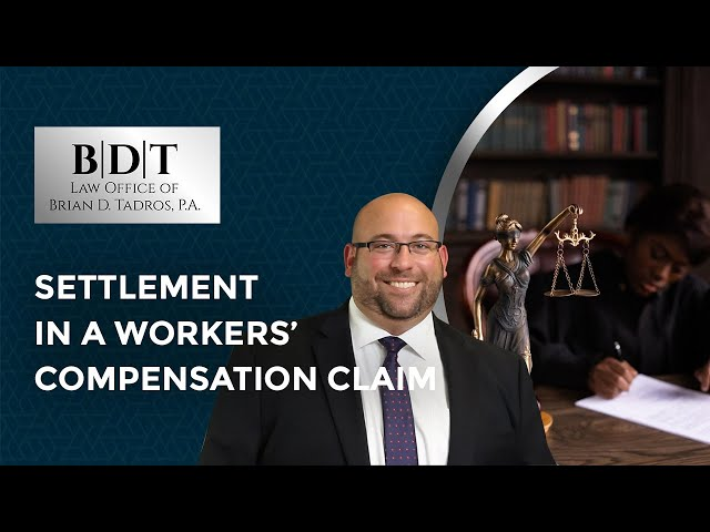 Settlement In A Workers' Compensation Claim