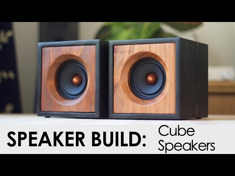 Cube Speakers Build