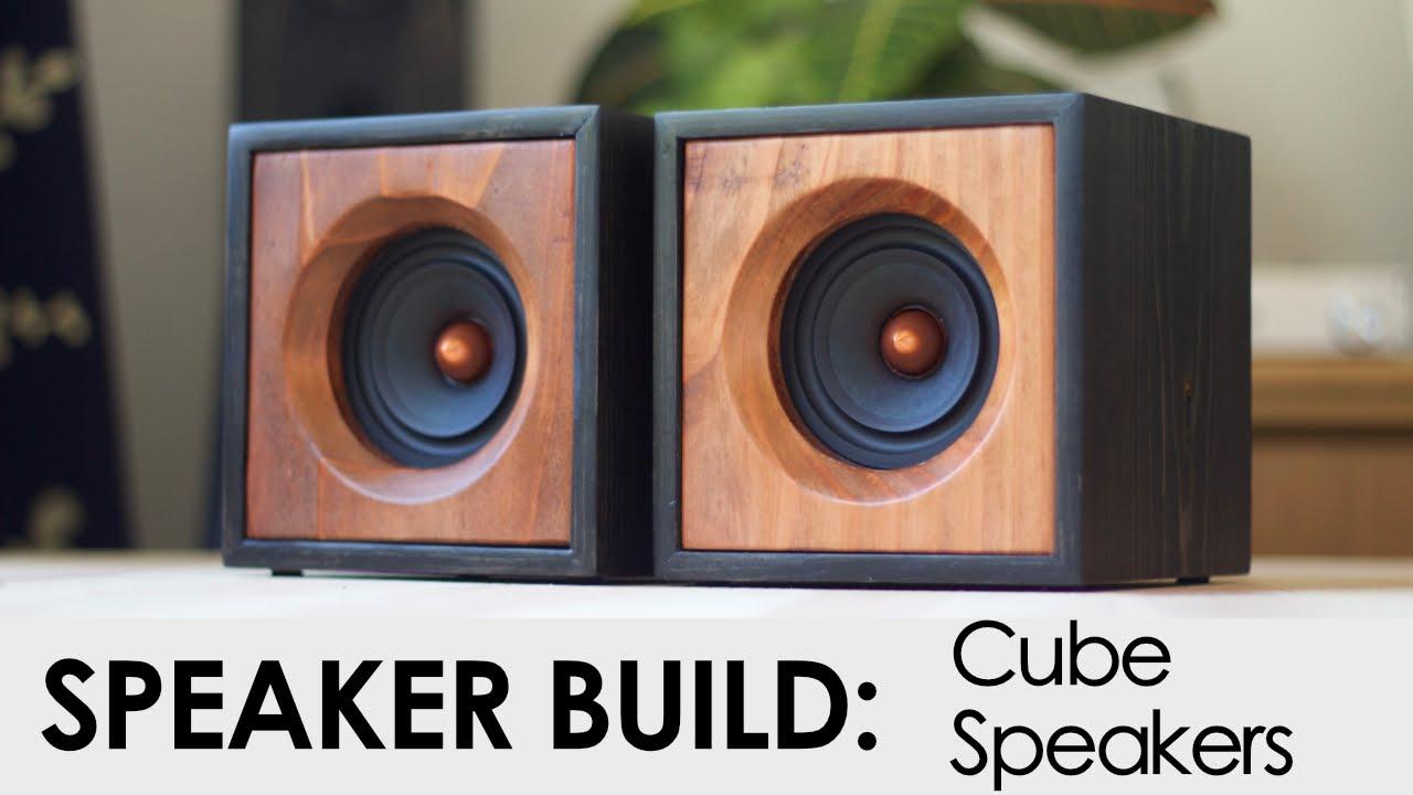 Cube Speakers Build