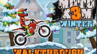 Moto X3m Winter Walkhtrough