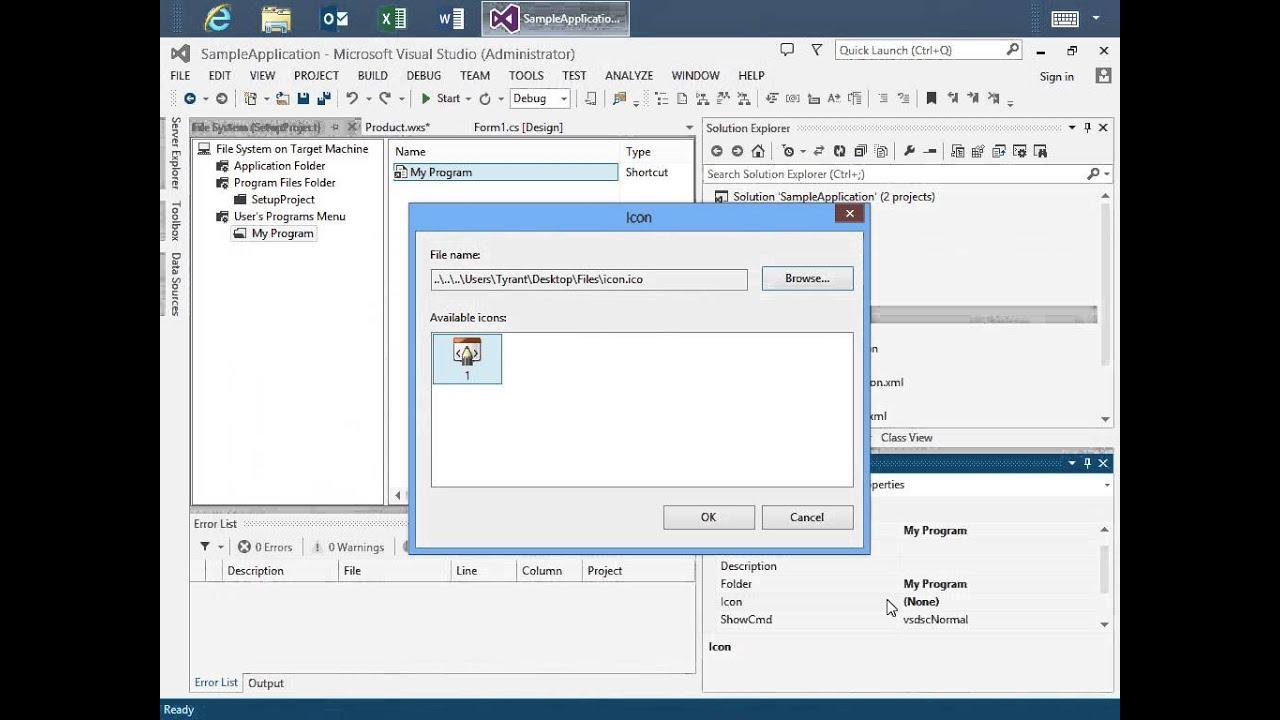 WiX Designer for Visual Studio 2012 and 2013