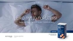 Apteq vita Melatoniini Extra 1,9 mg TV-mainos ilta 30s
