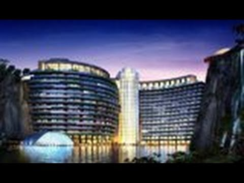 Unseen Pics of Gorgeous Underground resort in China || Pastimers