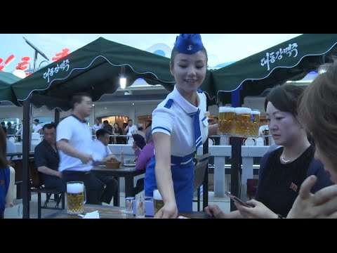 Pyongyang Hosts Its First Beer Festival