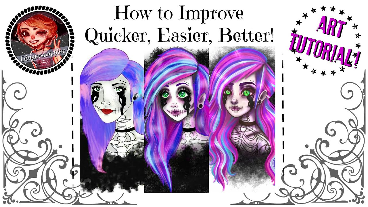 art tutorial how to improve quicker easier and better youtube