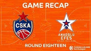 Highlights: CSKA Moscow - Anadolu Efes Istanbul