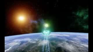 Procedural Planet in Space Blueprint in the Unreal Engine 4 HD V3