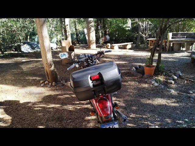 Colocar baúl (top case) de 45 litros en Gilera YL 200 Custom | Motovlog #2 S1 Ep. 2