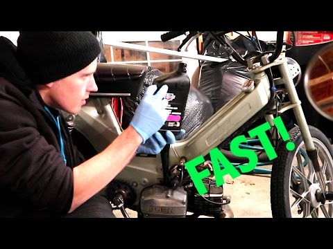 Making My Moped FASTER