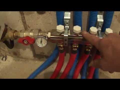 Трубы Rehau при монтаже водопровода.