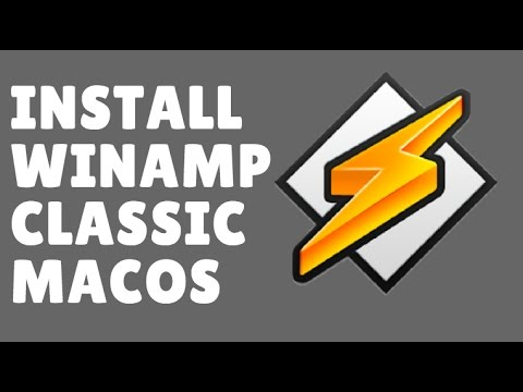 How To Install WINAMP Player Classic On MacOS Sierra