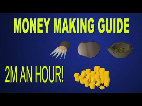 OSRS- 2M an hour! Money Making Guide