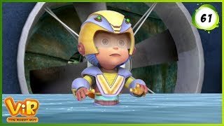 Vir: The Robot Boy | Factorid Attack | Action cartoons for Kids | 3D cartoons