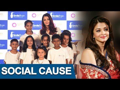 Aishwarya Rai Bachchan Supports A Social Cause