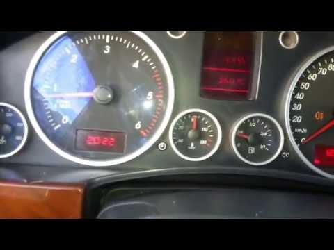 Отзыв Volkswagen Touareg 25 TDI R5 Фольксваген Туарег
