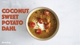 Coconut Sweet Potato Dahl