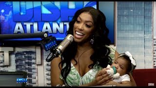 REUNITED AND IT FEELS SO GOOD! PORSHA IS BACK IN THE STUDIO WITH BABY PJ