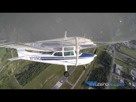Steep Spiral Landing - MzeroA Flight Training
