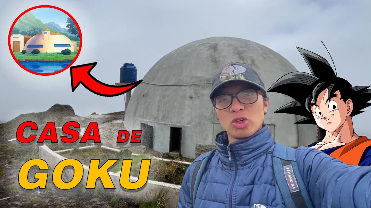 Acampamos en la CASA DE GOKU | Ahora Pit